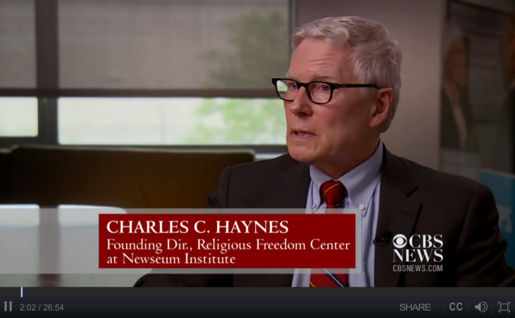 CBS Special: Religion & Democracy