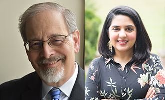 Richard Foltin, Asma Uddin, senior scholars, Religious Freedom Center, RFC